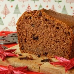 Gingerbread cake without sugar - sweet and moist