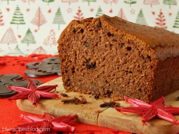 Gingerbread cake, sugar free, perfect for children
