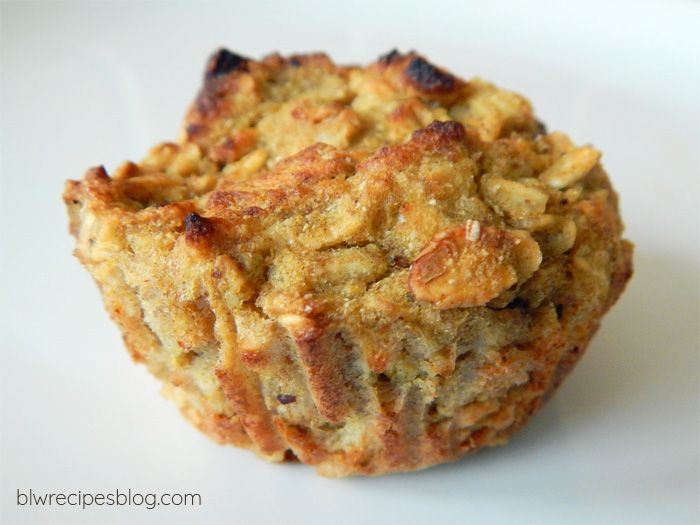 Pumpkin, apple and oatmeal cupcakes