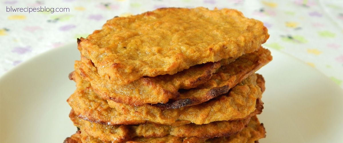 Blw Sweet Potato Fritters Baked And Healthy